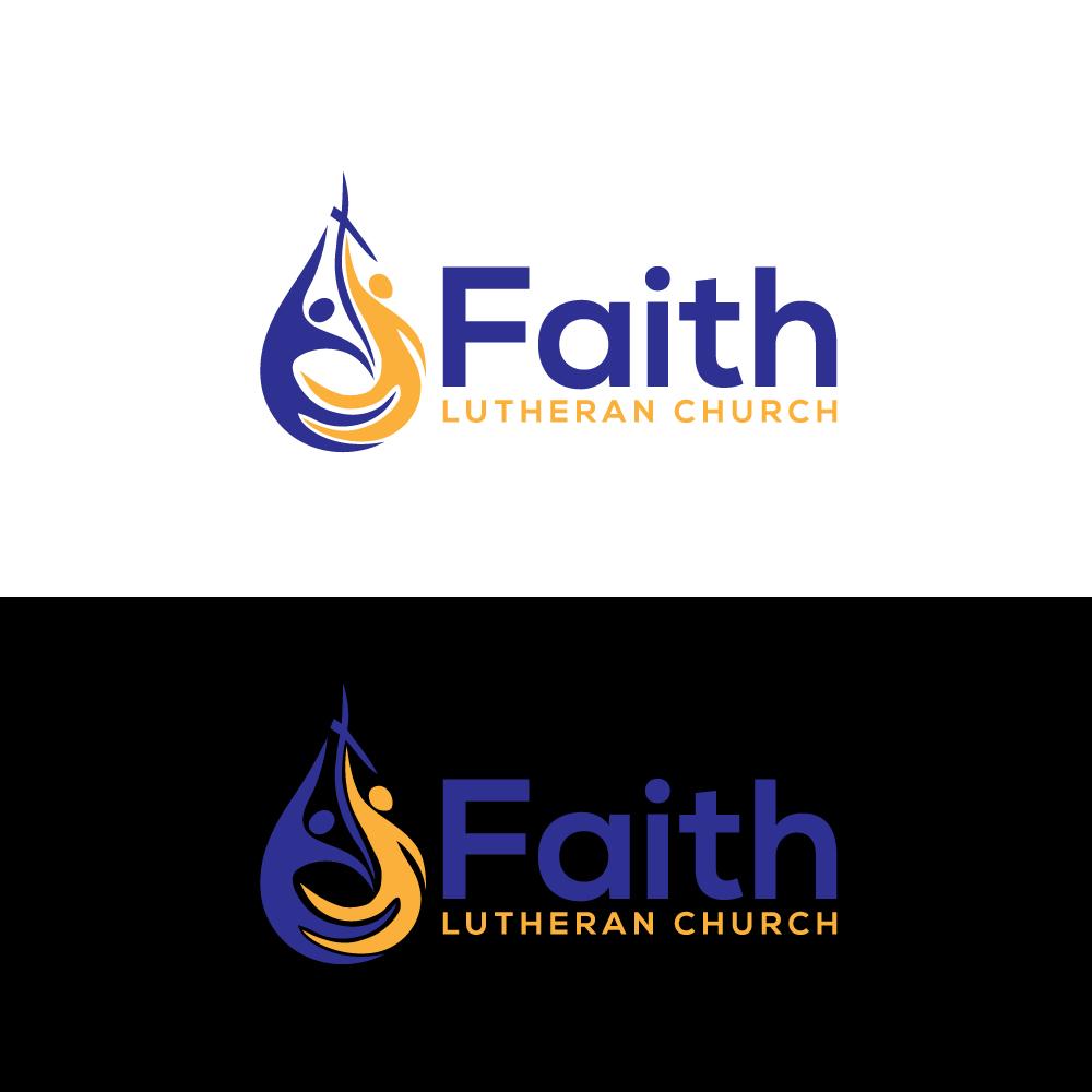 Logo Design by Private User - Entry No. 149 in the Logo Design Contest Logo Design for Faith Lutheran Church.