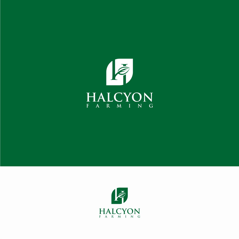 Logo Design by Surya Juna saputra - Entry No. 14 in the Logo Design Contest Creative Logo Design for Halcyon Farming.