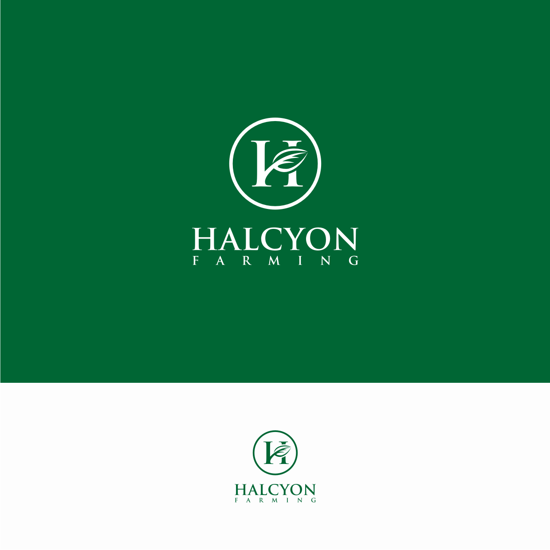 Logo Design by Surya Juna saputra - Entry No. 15 in the Logo Design Contest Creative Logo Design for Halcyon Farming.