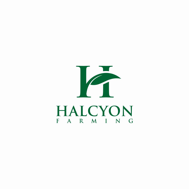 Logo Design by Surya Juna saputra - Entry No. 17 in the Logo Design Contest Creative Logo Design for Halcyon Farming.