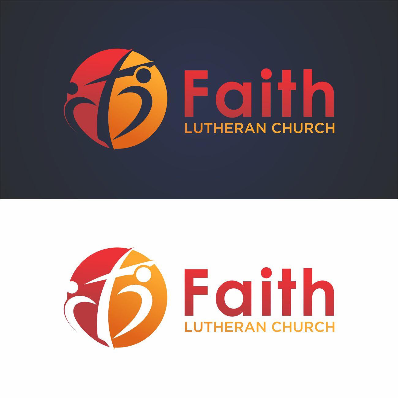 Logo Design by RasYa Muhammad Athaya - Entry No. 156 in the Logo Design Contest Logo Design for Faith Lutheran Church.