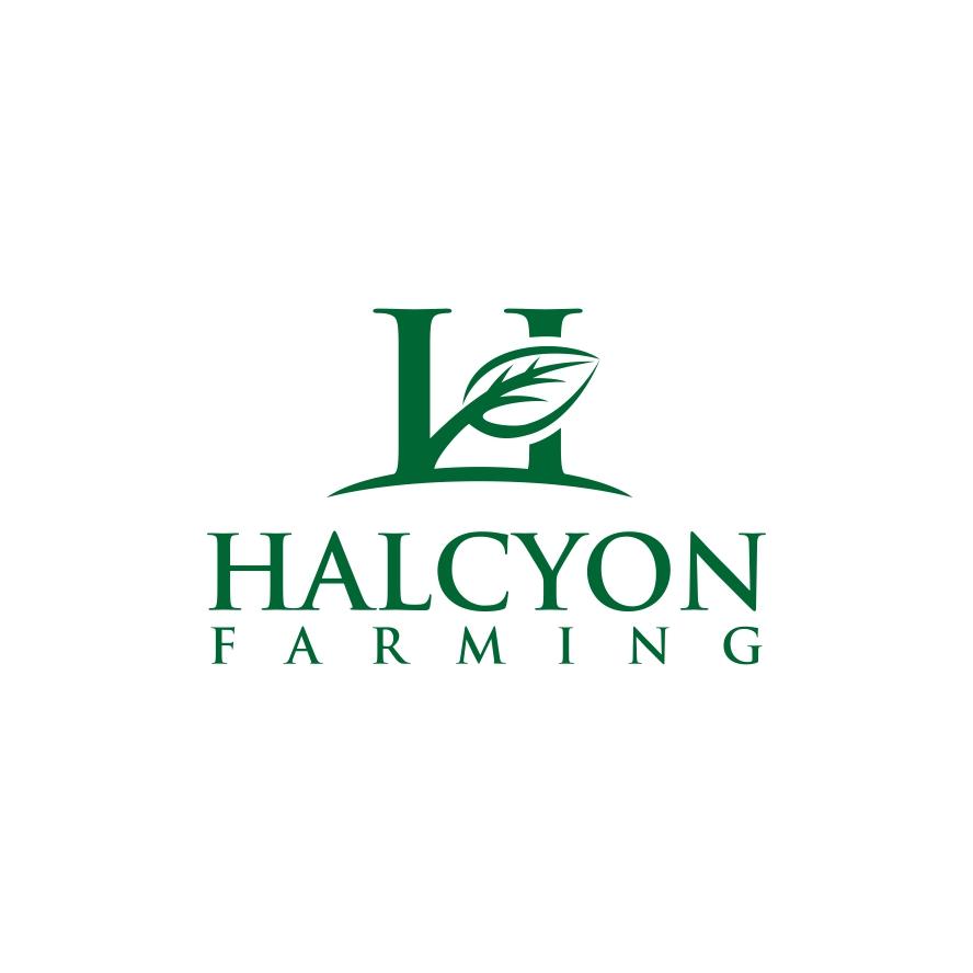Logo Design by untung - Entry No. 33 in the Logo Design Contest Creative Logo Design for Halcyon Farming.