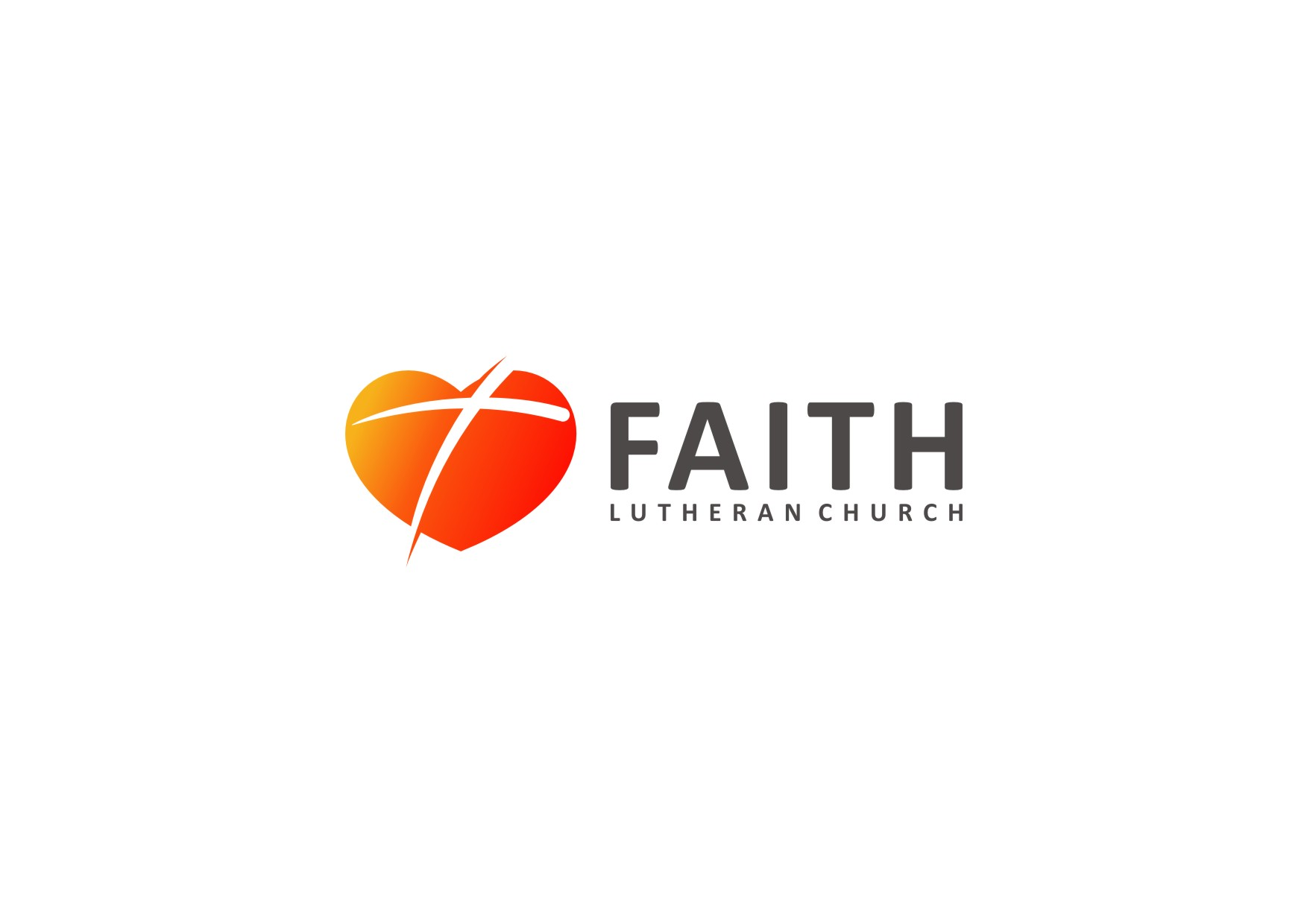 Logo Design by Wahyu Pamungkaz - Entry No. 162 in the Logo Design Contest Logo Design for Faith Lutheran Church.