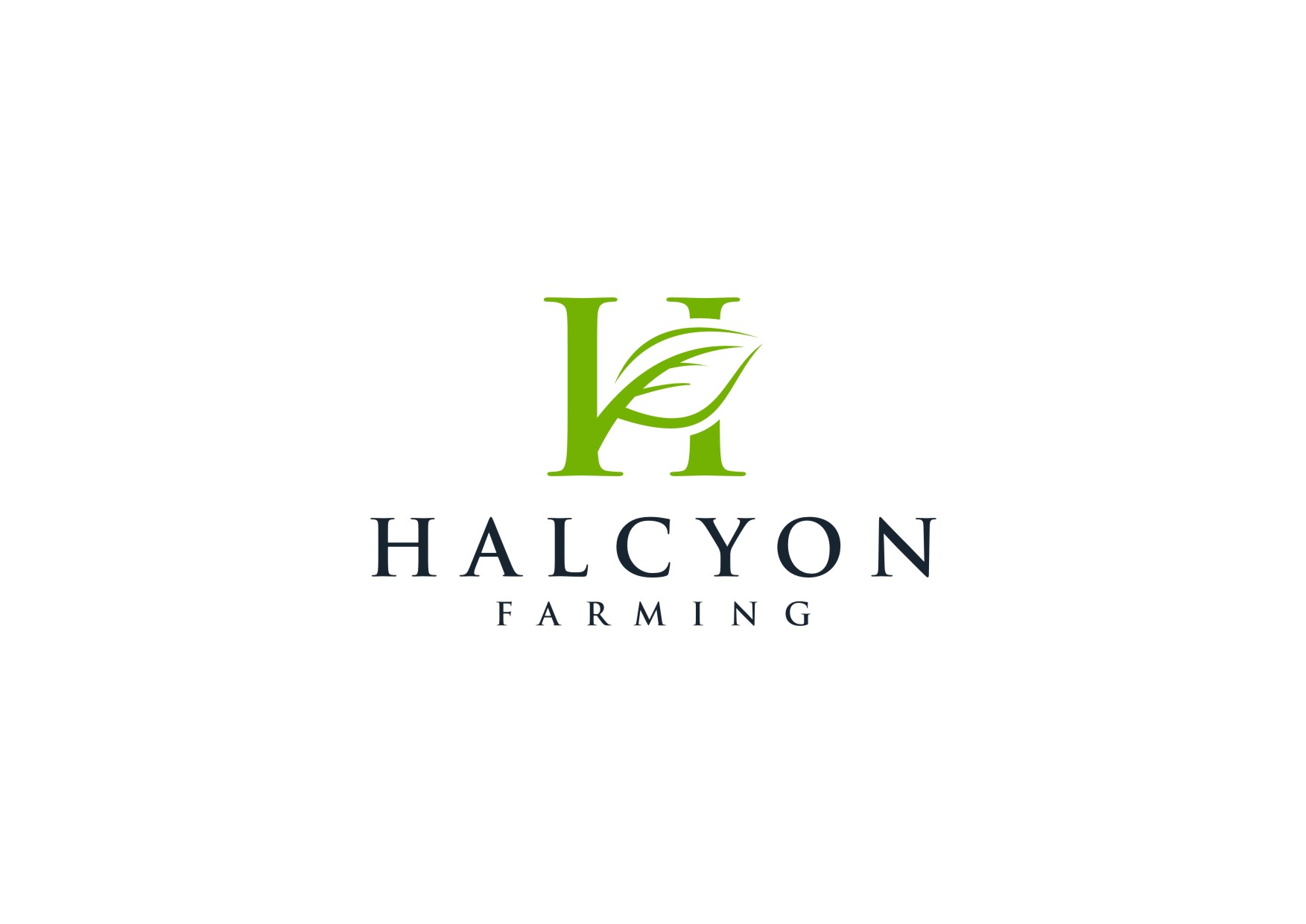 Logo Design by Wahyu Pamungkaz - Entry No. 34 in the Logo Design Contest Creative Logo Design for Halcyon Farming.