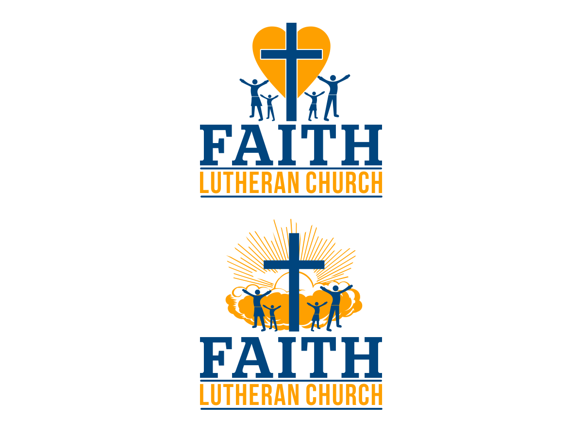 Logo Design by Private User - Entry No. 164 in the Logo Design Contest Logo Design for Faith Lutheran Church.