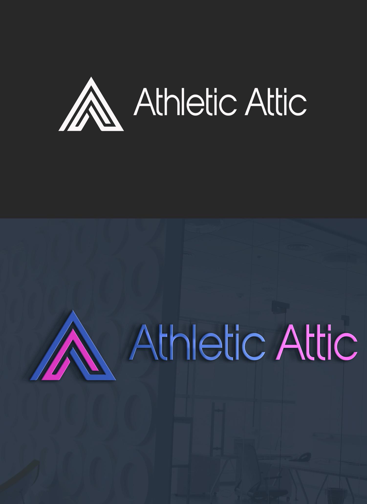 Logo Design by YANUAR ANTABUA - Entry No. 8 in the Logo Design Contest Fun Logo Design for Athletic Attic.
