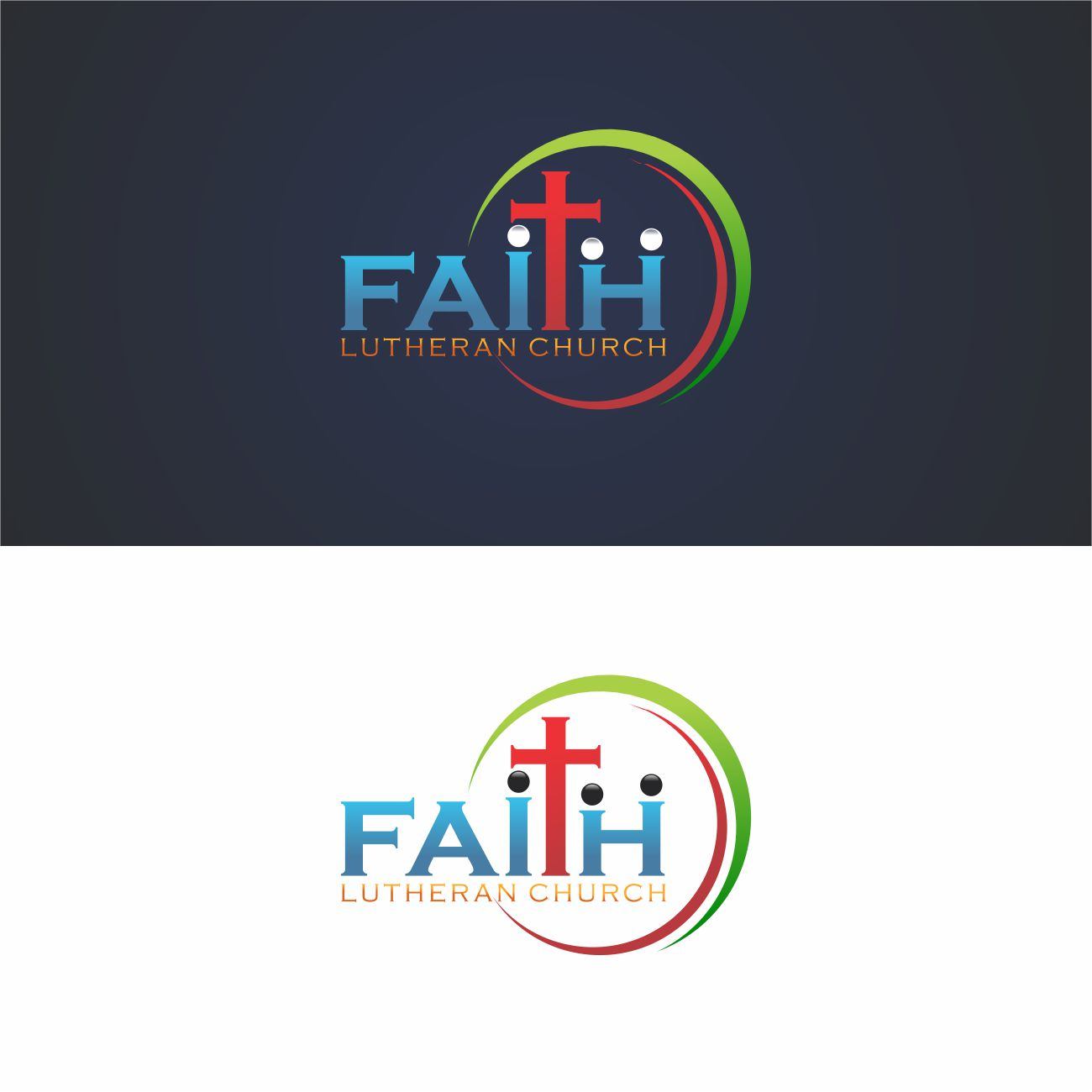 Logo Design by RasYa Muhammad Athaya - Entry No. 168 in the Logo Design Contest Logo Design for Faith Lutheran Church.