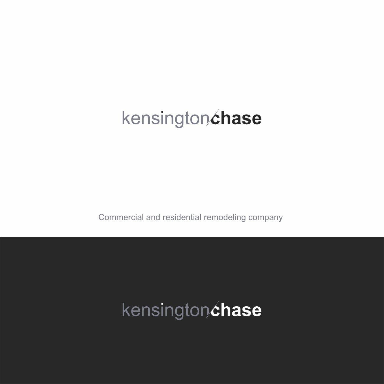 Logo Design by RasYa Muhammad Athaya - Entry No. 78 in the Logo Design Contest Kensington Chase  Logo Design.