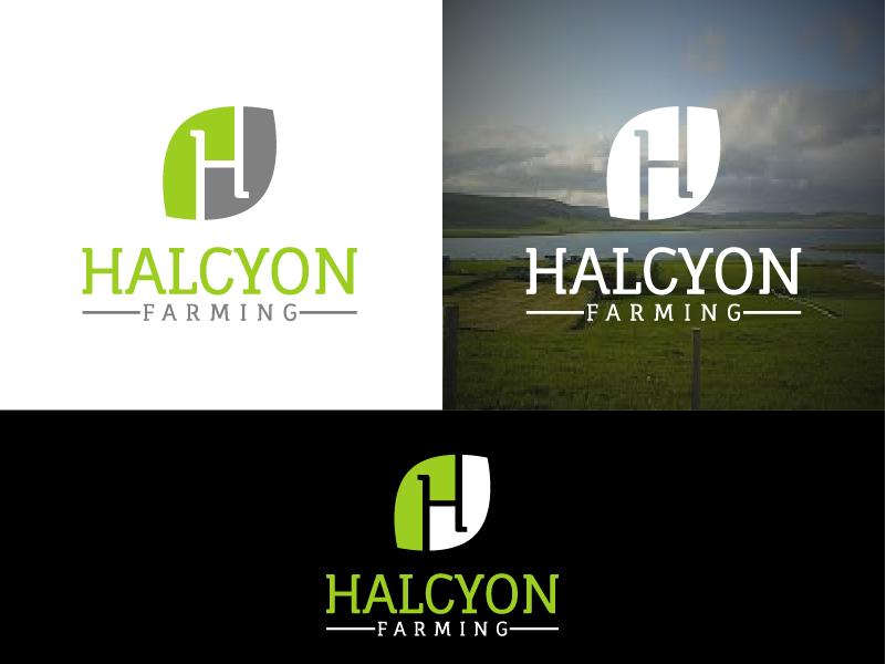Logo Design by Private User - Entry No. 36 in the Logo Design Contest Creative Logo Design for Halcyon Farming.