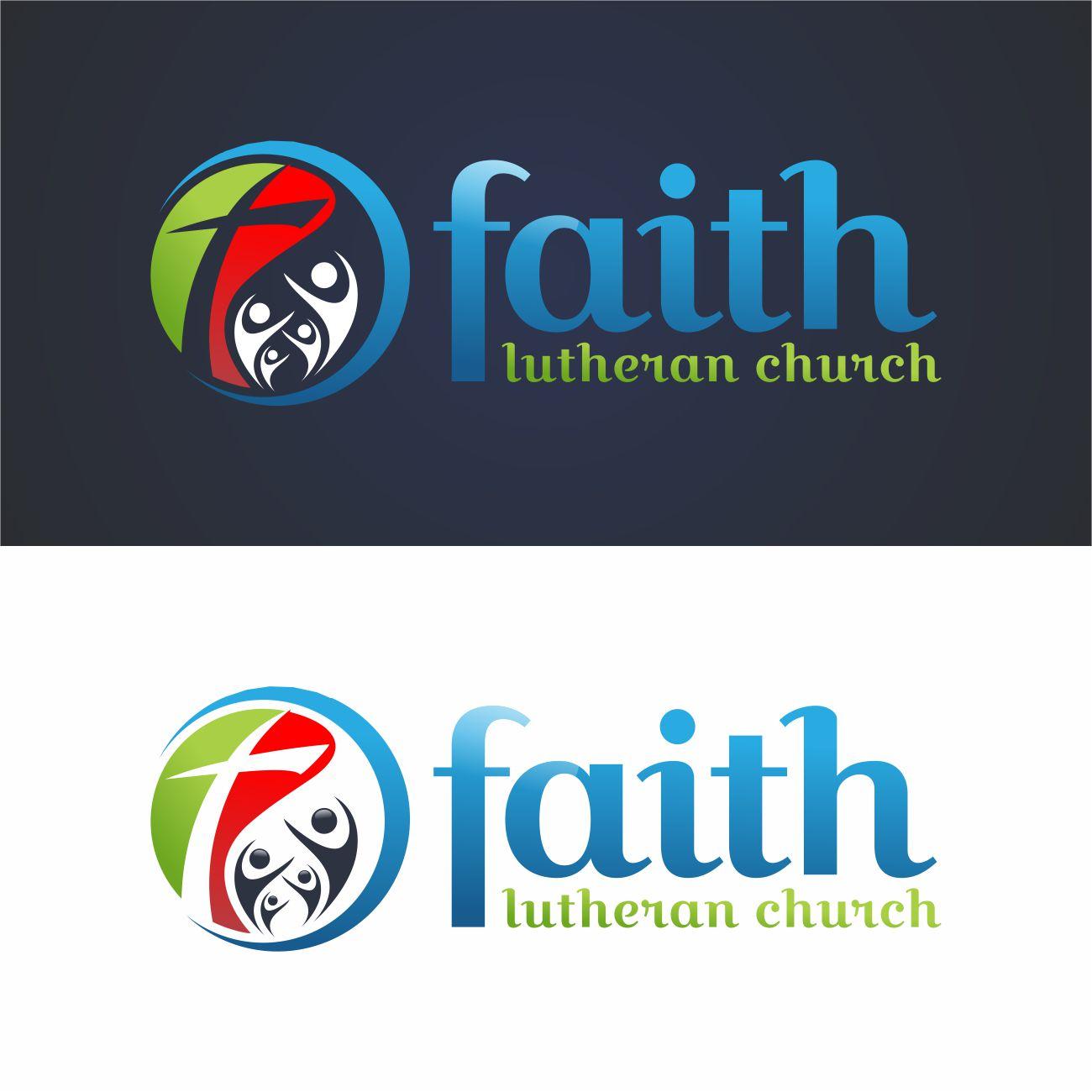 Logo Design by RasYa Muhammad Athaya - Entry No. 169 in the Logo Design Contest Logo Design for Faith Lutheran Church.