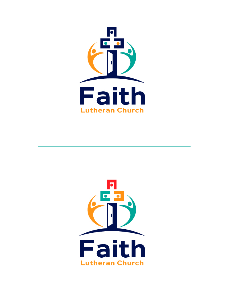Logo Design by Tauhid Shaikh - Entry No. 170 in the Logo Design Contest Logo Design for Faith Lutheran Church.