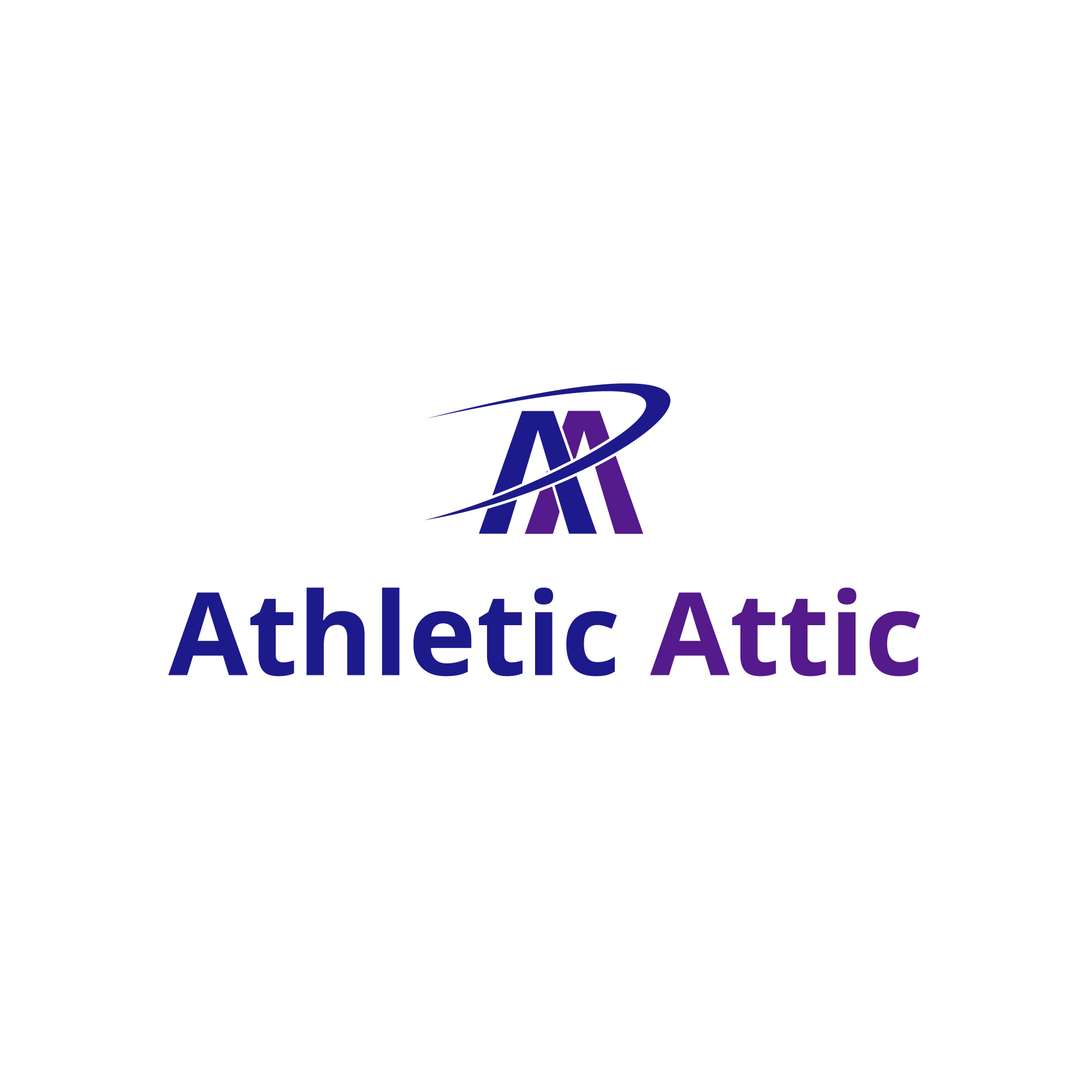 Logo Design by Zoran Lesevic - Entry No. 20 in the Logo Design Contest Fun Logo Design for Athletic Attic.