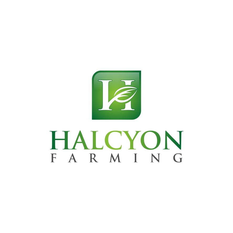 Logo Design by untung - Entry No. 37 in the Logo Design Contest Creative Logo Design for Halcyon Farming.