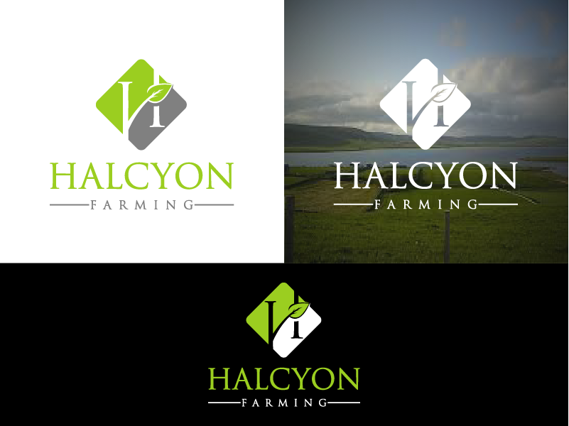 Logo Design by Private User - Entry No. 39 in the Logo Design Contest Creative Logo Design for Halcyon Farming.