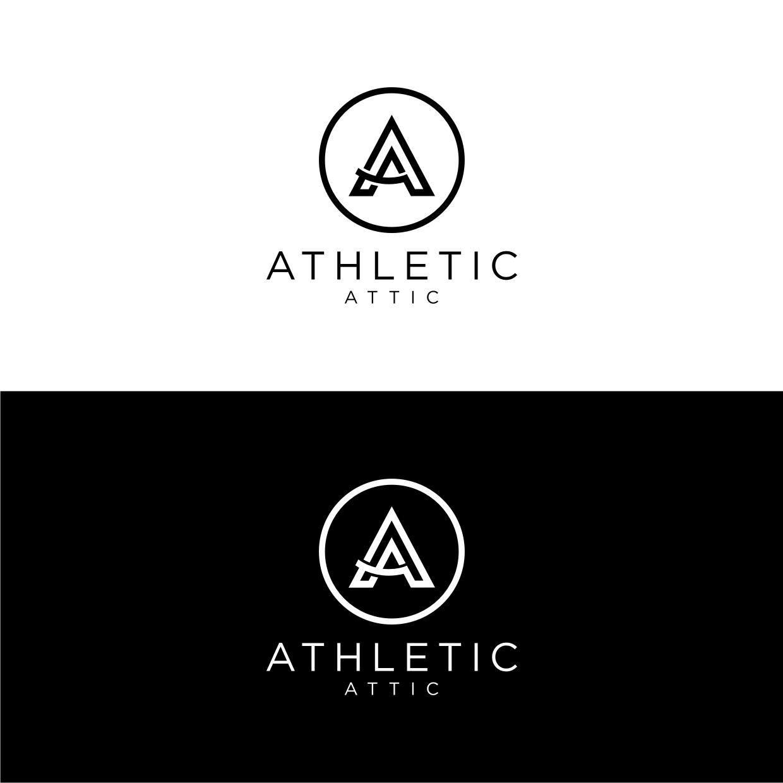 Logo Design by Analla Art - Entry No. 24 in the Logo Design Contest Fun Logo Design for Athletic Attic.