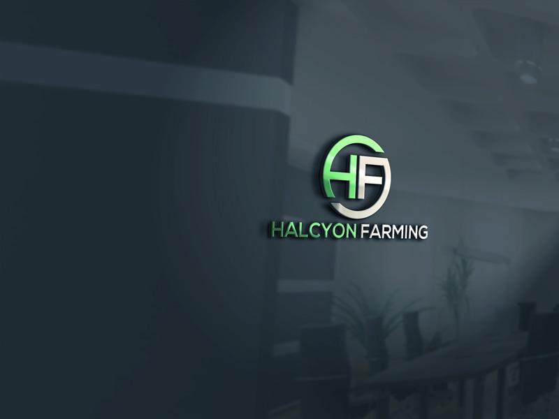 Logo Design by Private User - Entry No. 41 in the Logo Design Contest Creative Logo Design for Halcyon Farming.