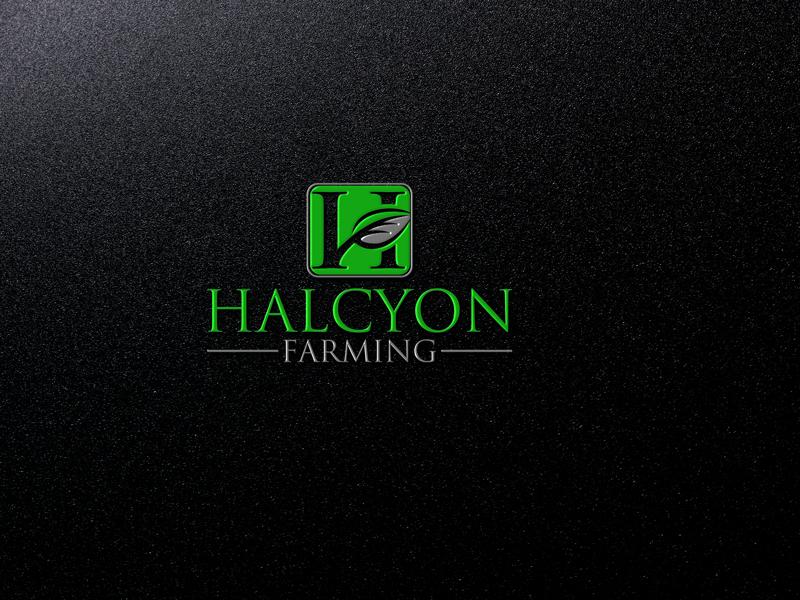 Logo Design by Private User - Entry No. 43 in the Logo Design Contest Creative Logo Design for Halcyon Farming.