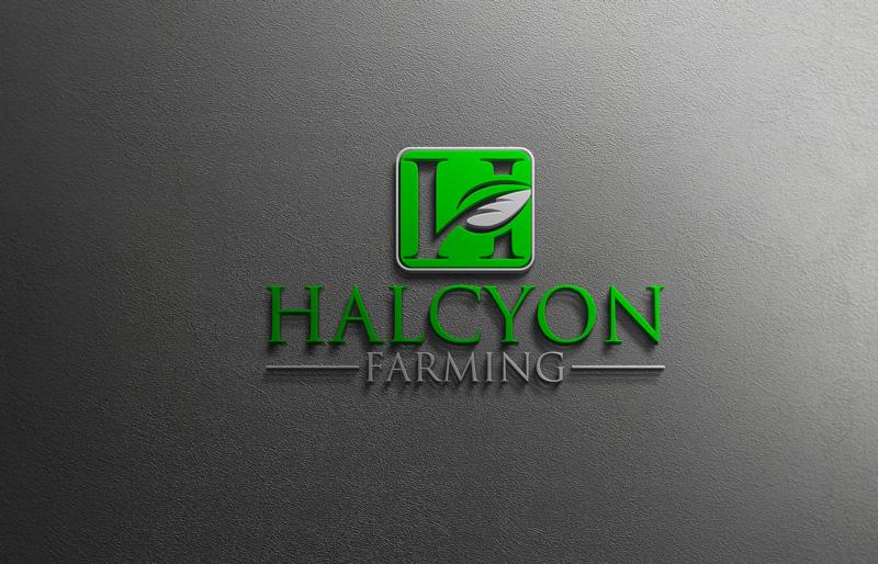 Logo Design by Private User - Entry No. 47 in the Logo Design Contest Creative Logo Design for Halcyon Farming.
