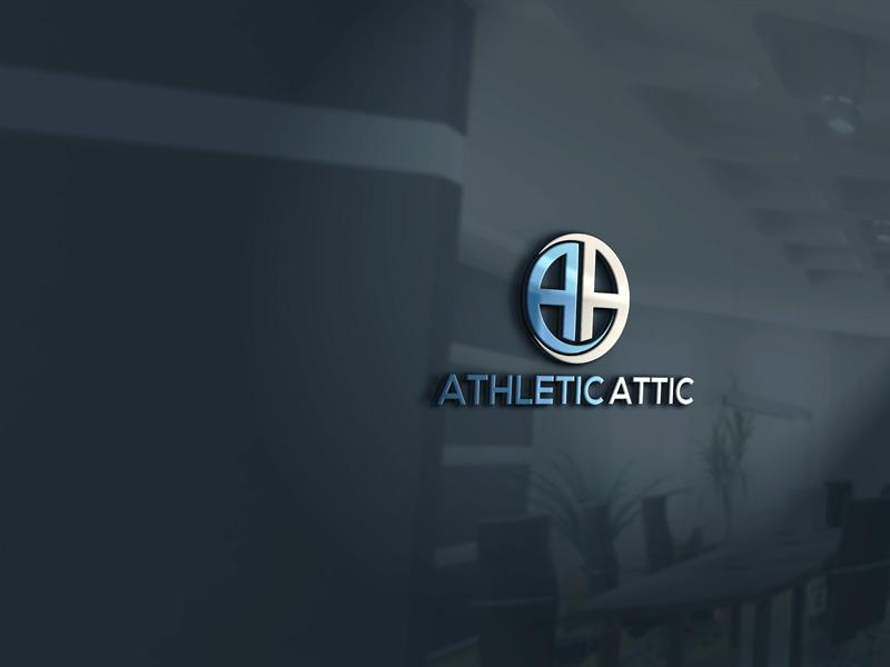 Logo Design by Private User - Entry No. 32 in the Logo Design Contest Fun Logo Design for Athletic Attic.
