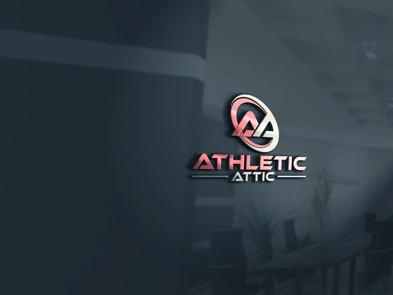 Logo Design by Private User - Entry No. 35 in the Logo Design Contest Fun Logo Design for Athletic Attic.