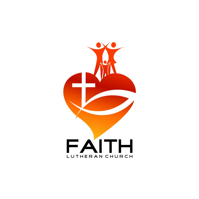 Logo Design by Analla Art - Entry No. 181 in the Logo Design Contest Logo Design for Faith Lutheran Church.