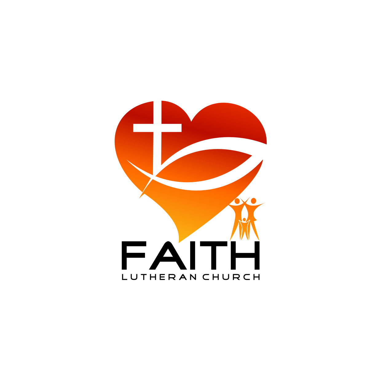Logo Design by Analla Art - Entry No. 182 in the Logo Design Contest Logo Design for Faith Lutheran Church.