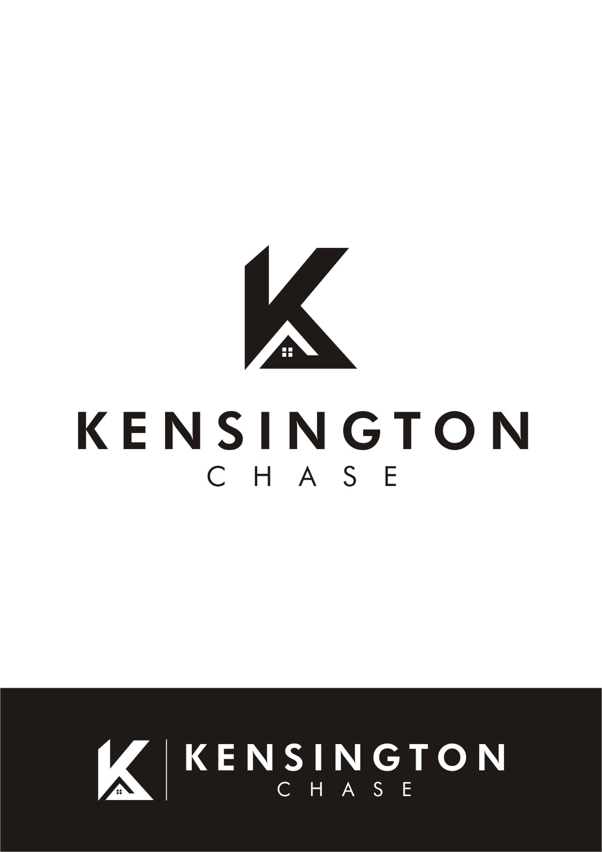 Logo Design by Spider Graphics - Entry No. 97 in the Logo Design Contest Kensington Chase  Logo Design.