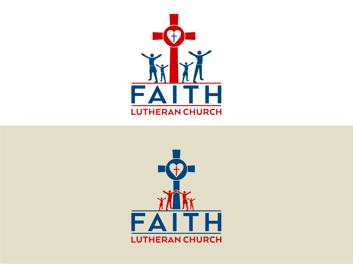 Logo Design by Private User - Entry No. 186 in the Logo Design Contest Logo Design for Faith Lutheran Church.