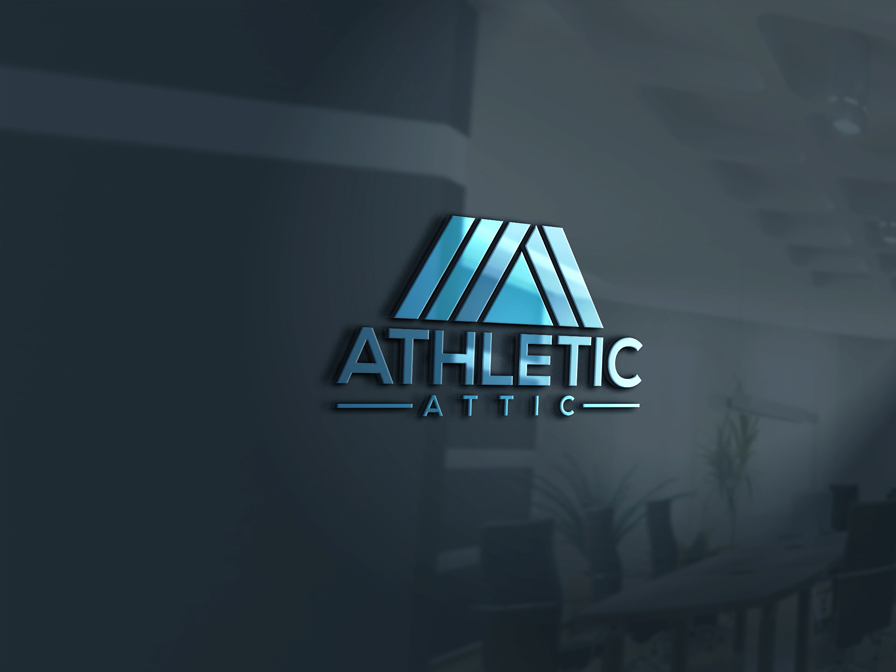 Logo Design by Private User - Entry No. 43 in the Logo Design Contest Fun Logo Design for Athletic Attic.