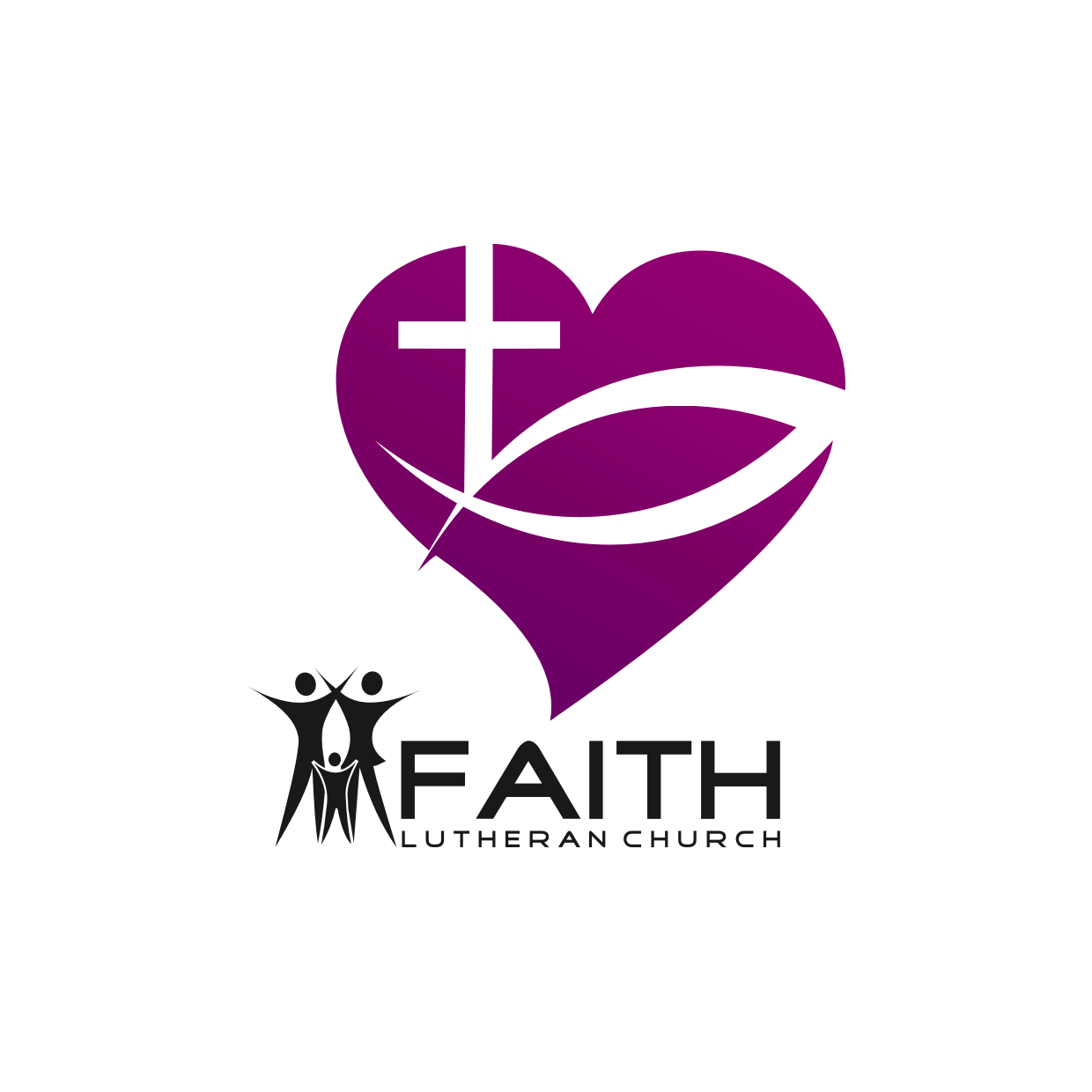 Logo Design by Analla Art - Entry No. 189 in the Logo Design Contest Logo Design for Faith Lutheran Church.