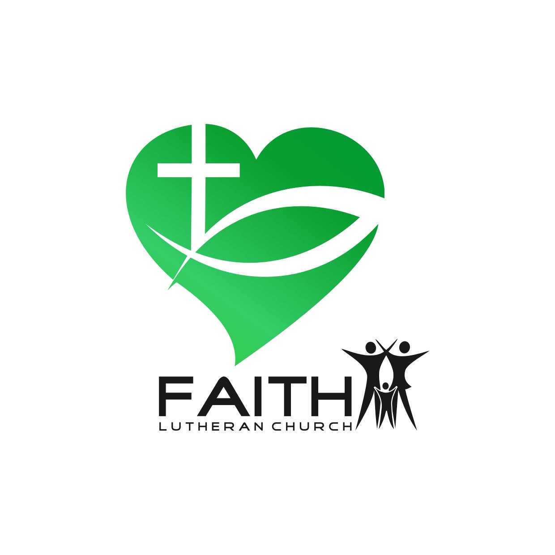 Logo Design by Analla Art - Entry No. 190 in the Logo Design Contest Logo Design for Faith Lutheran Church.