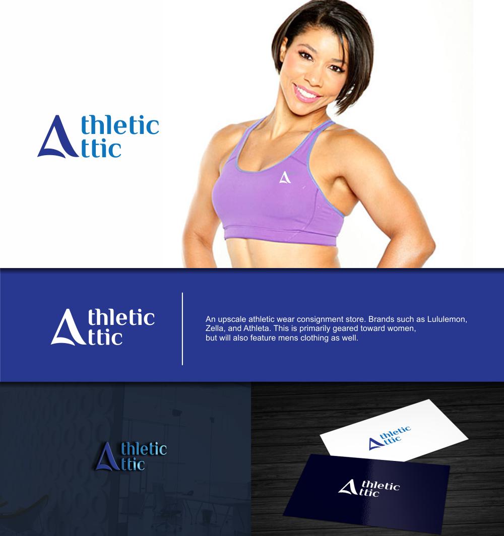 Logo Design by Greenleaf Design - Entry No. 46 in the Logo Design Contest Fun Logo Design for Athletic Attic.