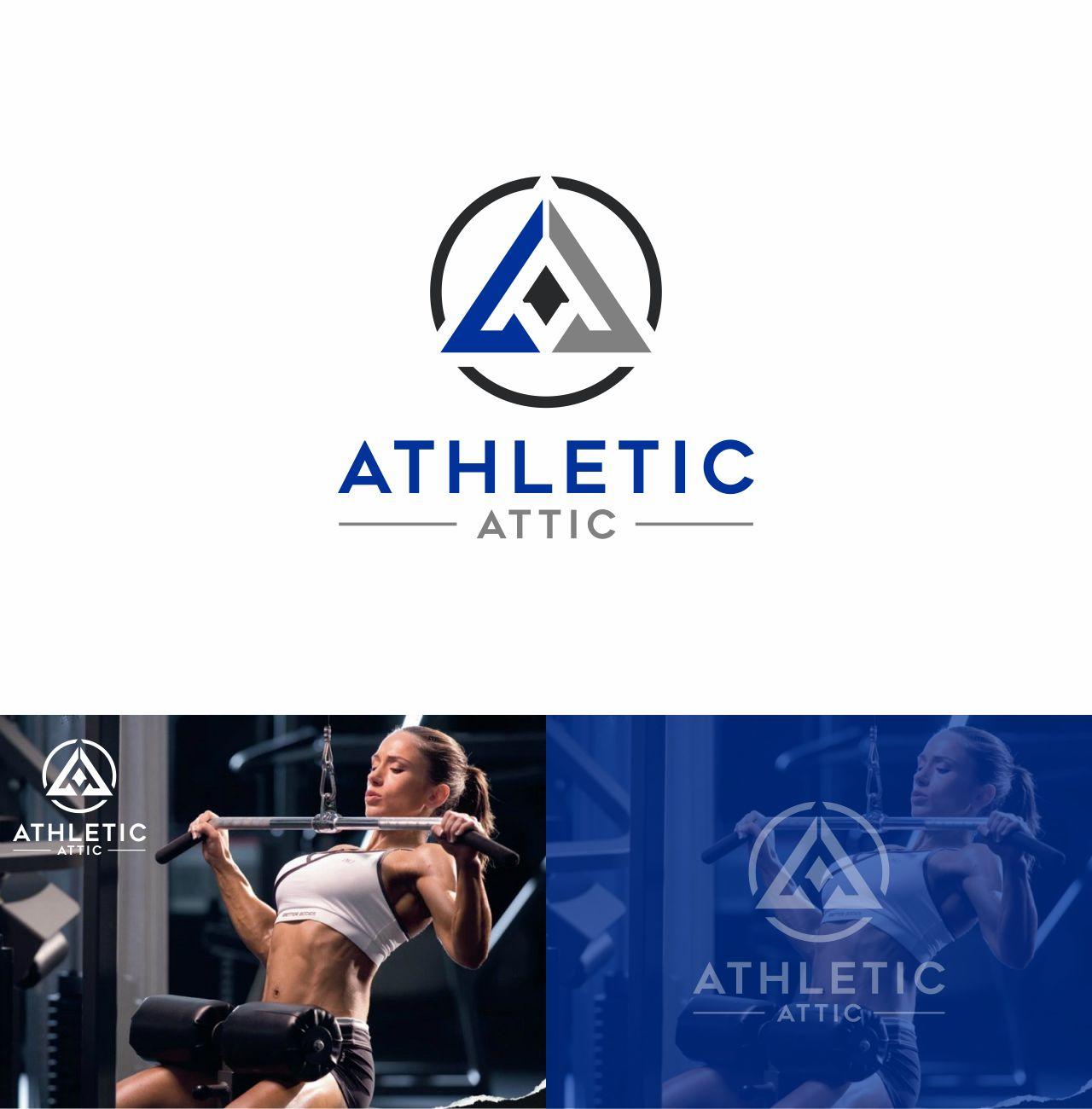Logo Design by RasYa Muhammad Athaya - Entry No. 50 in the Logo Design Contest Fun Logo Design for Athletic Attic.
