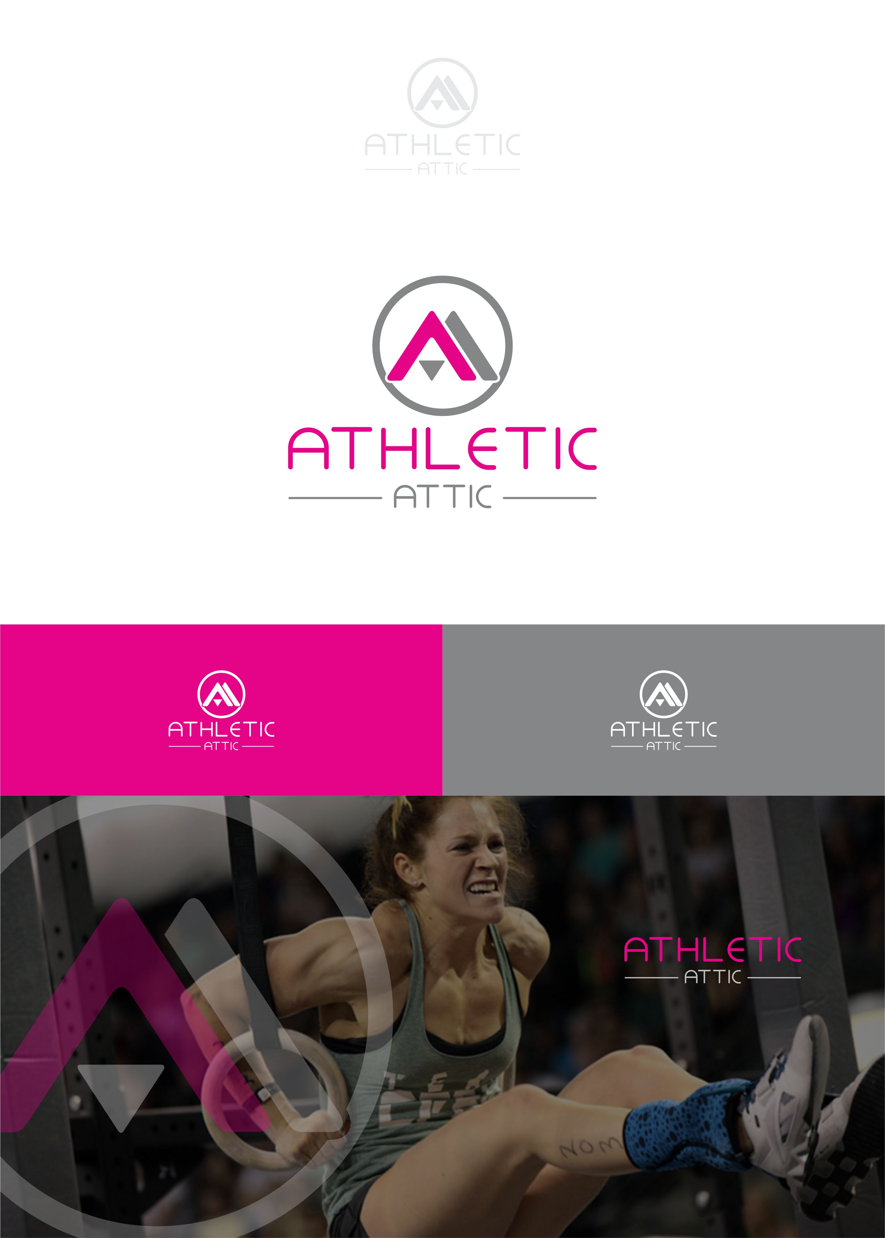 Logo Design by Raymond Garcia - Entry No. 51 in the Logo Design Contest Fun Logo Design for Athletic Attic.