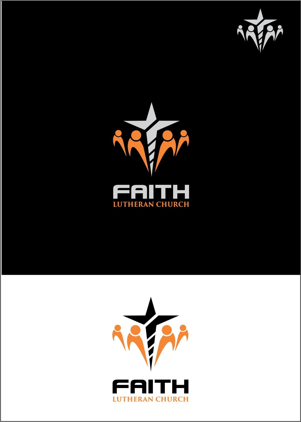 Logo Design by ian69 - Entry No. 197 in the Logo Design Contest Logo Design for Faith Lutheran Church.