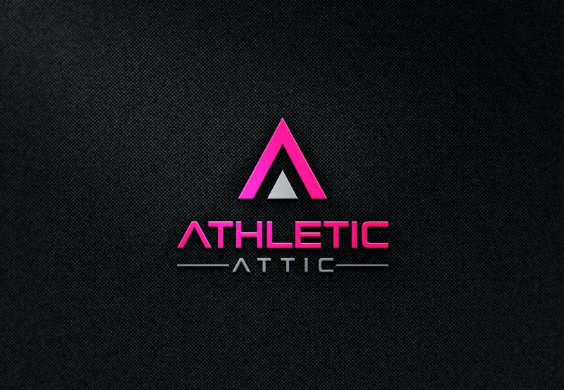 Logo Design by Private User - Entry No. 55 in the Logo Design Contest Fun Logo Design for Athletic Attic.