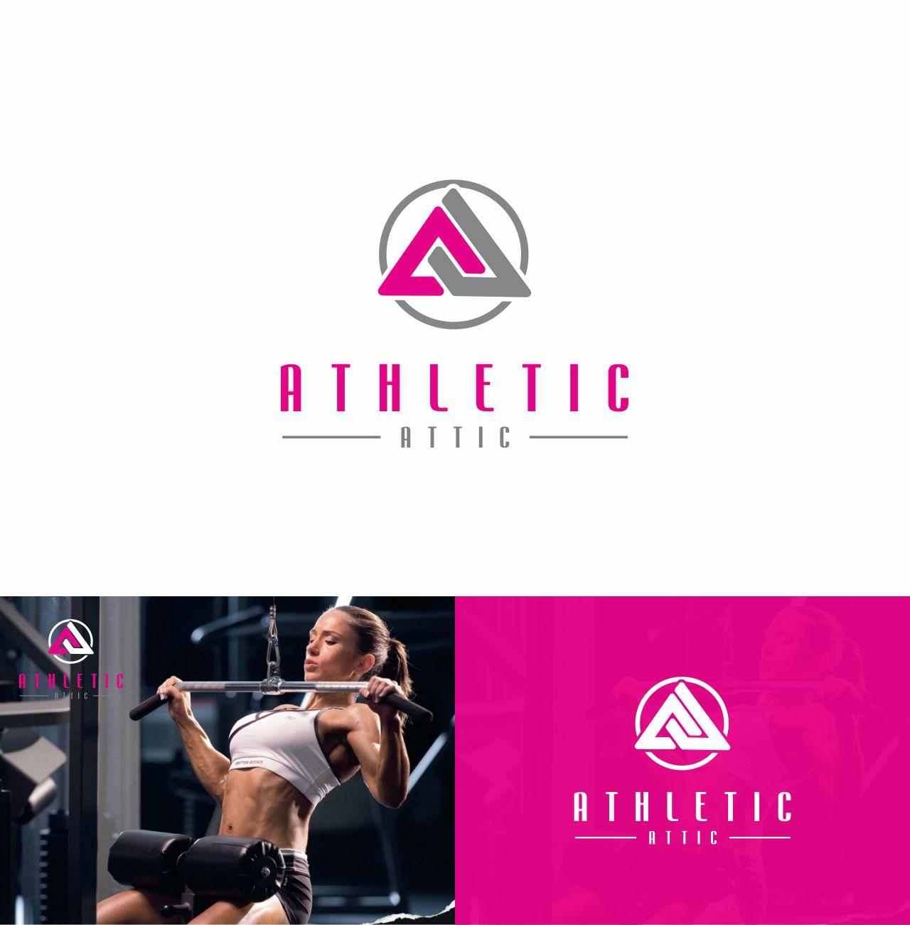 Logo Design by RasYa Muhammad Athaya - Entry No. 57 in the Logo Design Contest Fun Logo Design for Athletic Attic.