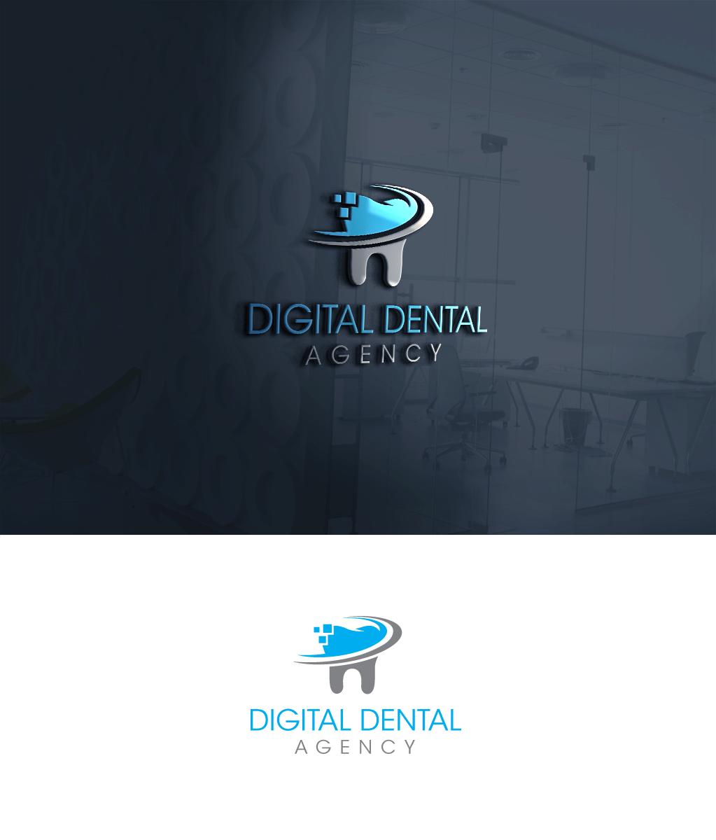 Logo Design by benhur - Entry No. 68 in the Logo Design Contest Imaginative Logo Design for Digital Dental Agency.
