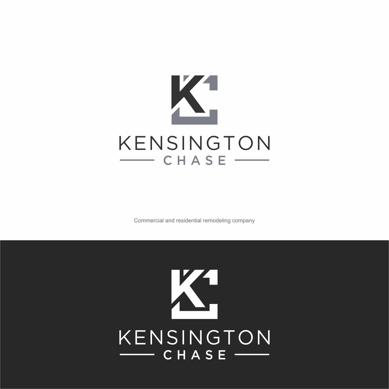 Logo Design by RasYa Muhammad Athaya - Entry No. 109 in the Logo Design Contest Kensington Chase  Logo Design.