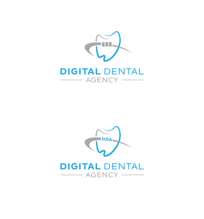 Logo Design by Tauhid Shaikh - Entry No. 69 in the Logo Design Contest Imaginative Logo Design for Digital Dental Agency.