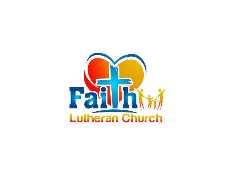 Logo Design by Private User - Entry No. 203 in the Logo Design Contest Logo Design for Faith Lutheran Church.