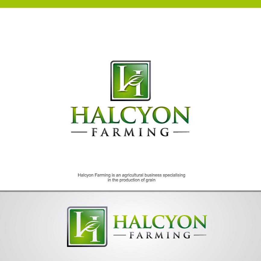 Logo Design by RasYa Muhammad Athaya - Entry No. 54 in the Logo Design Contest Creative Logo Design for Halcyon Farming.