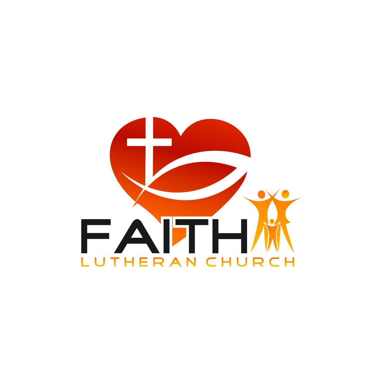 Logo Design by Analla Art - Entry No. 206 in the Logo Design Contest Logo Design for Faith Lutheran Church.