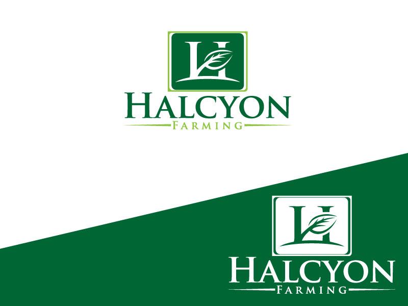 Logo Design by Md Harun Or Rashid - Entry No. 58 in the Logo Design Contest Creative Logo Design for Halcyon Farming.