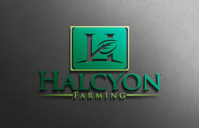 Logo Design by Md Harun Or Rashid - Entry No. 59 in the Logo Design Contest Creative Logo Design for Halcyon Farming.
