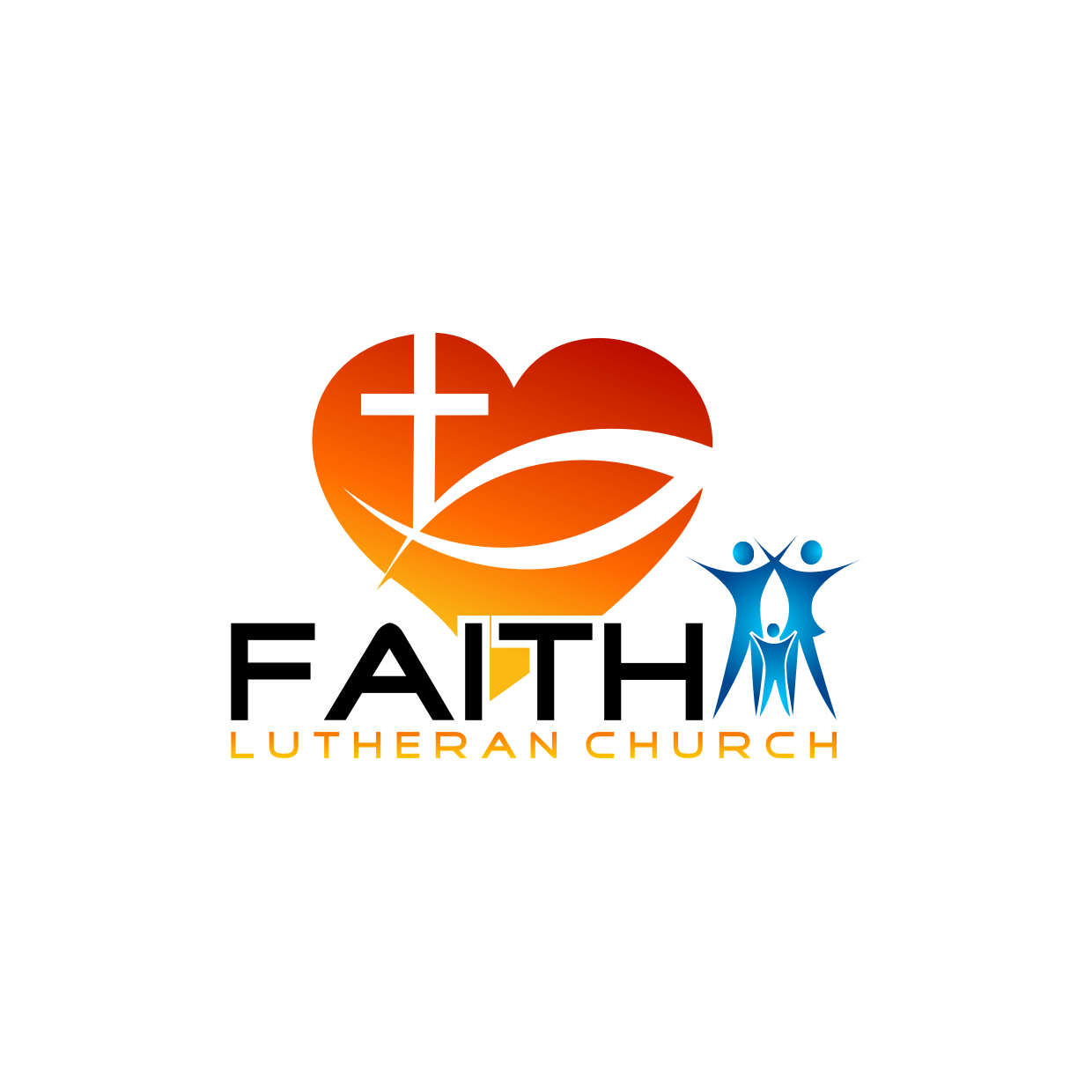 Logo Design by Analla Art - Entry No. 214 in the Logo Design Contest Logo Design for Faith Lutheran Church.