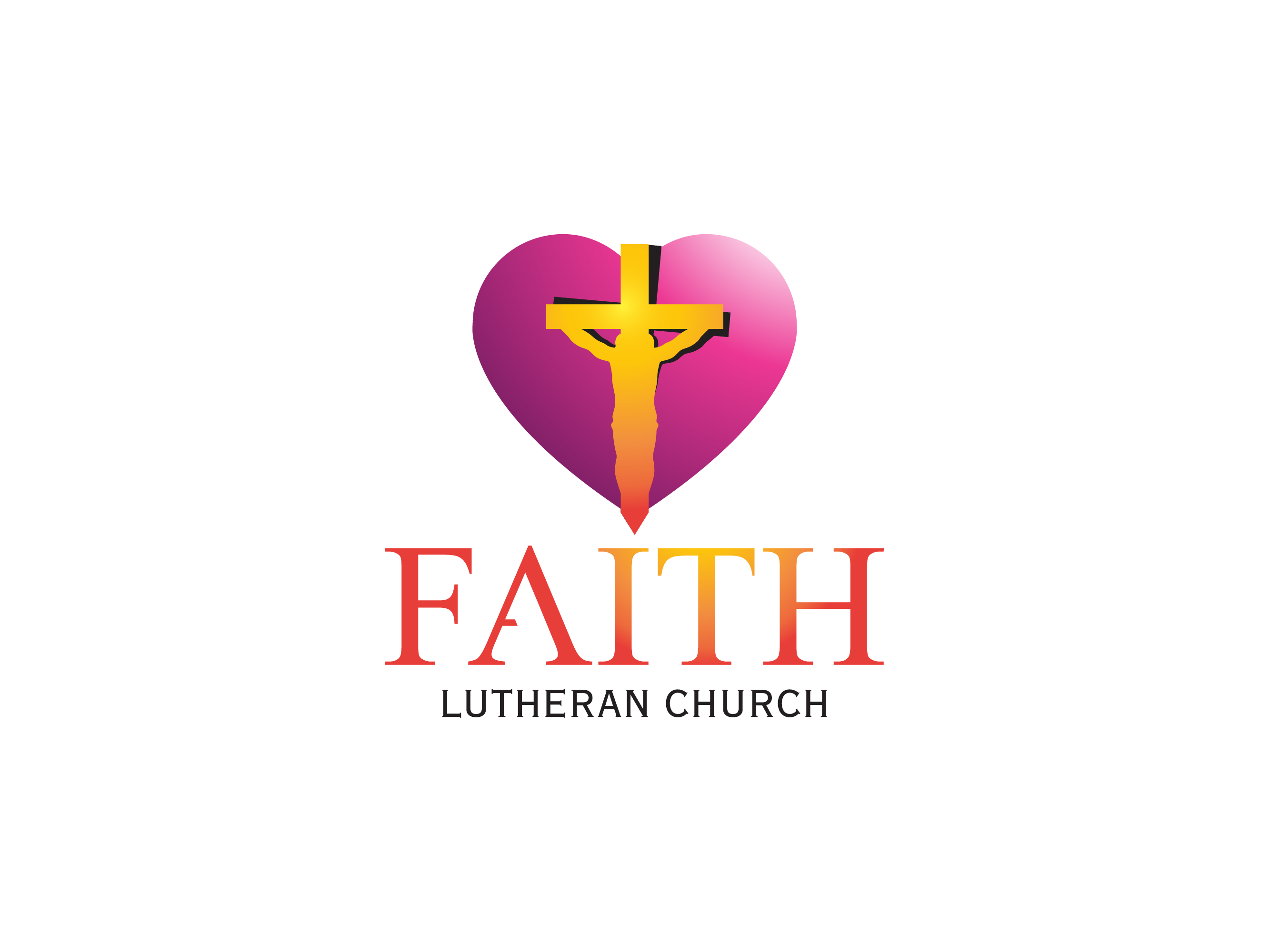 Logo Design by Probir Ghosh - Entry No. 217 in the Logo Design Contest Logo Design for Faith Lutheran Church.