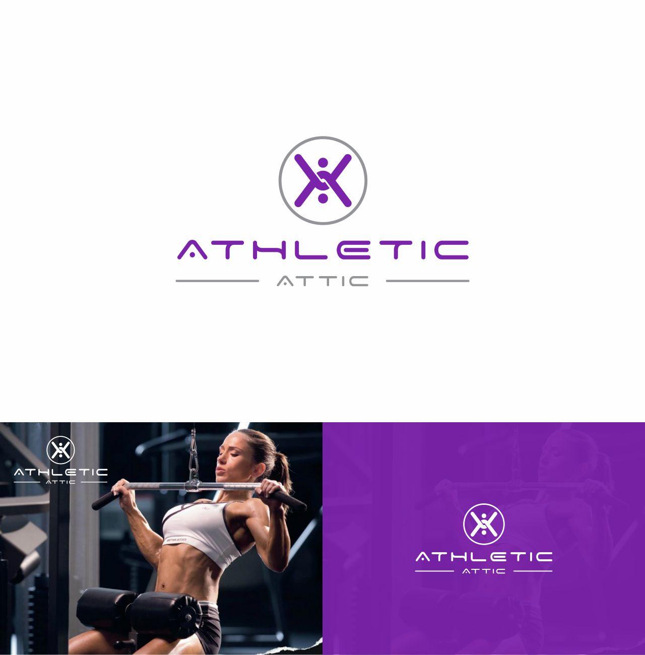 Logo Design by RasYa Muhammad Athaya - Entry No. 72 in the Logo Design Contest Fun Logo Design for Athletic Attic.
