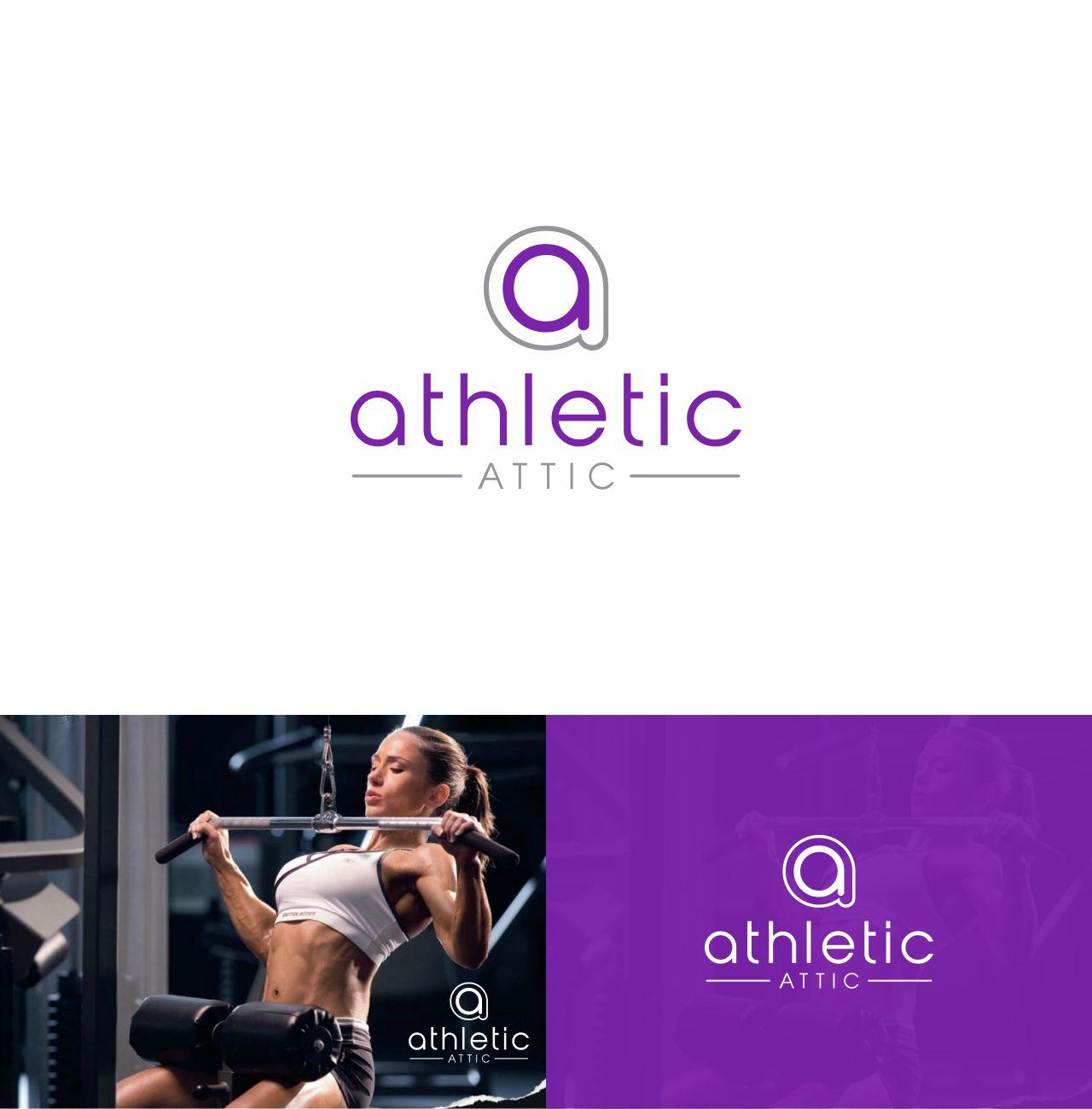 Logo Design by RasYa Muhammad Athaya - Entry No. 75 in the Logo Design Contest Fun Logo Design for Athletic Attic.