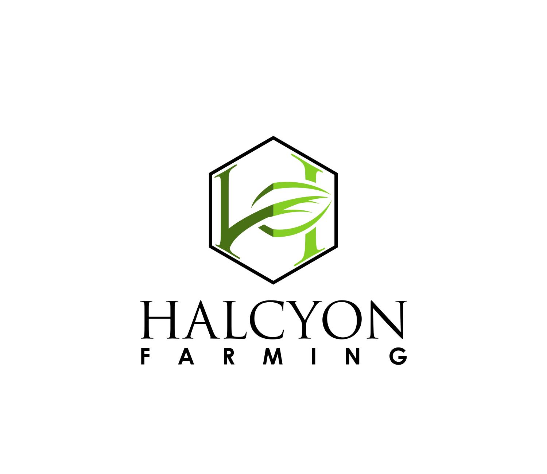 Logo Design by Net Bih - Entry No. 67 in the Logo Design Contest Creative Logo Design for Halcyon Farming.